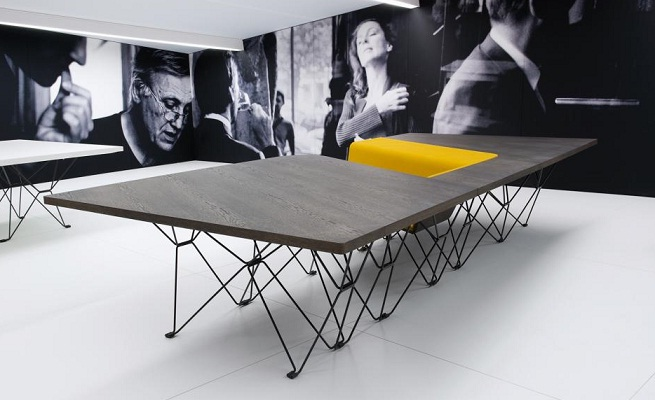revista muebles mobiliario de dise o On mesas de diseño oficina