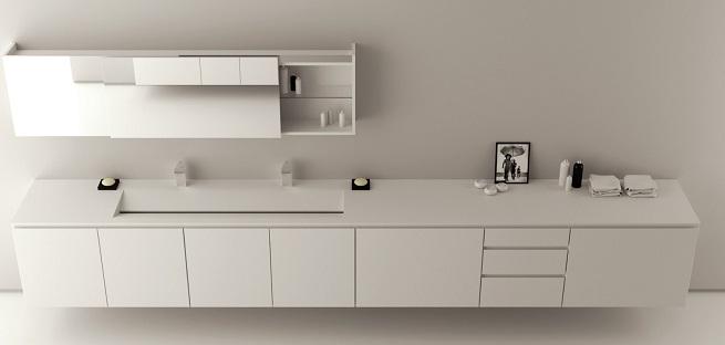 Wood System Slide, muebles de baño de Moma Design – Revista Muebles – Mobilia...