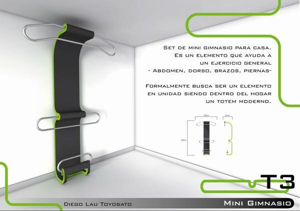 Revista muebles mobiliario de dise o - Material de gimnasio para casa ...