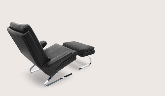 Swing una comoda silla con reposapies4 revista muebles mobiliario de dise o - Reposapies con almacenaje ...