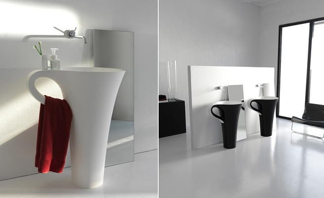 Cup un lavabo con forma de taza Diseno muebles de lavabo