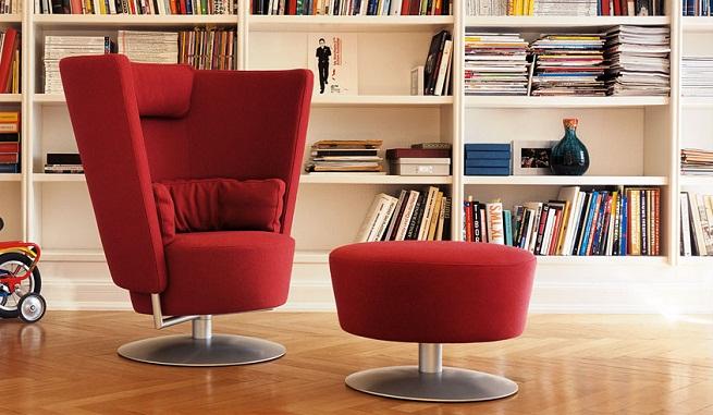 Circo solo una c moda silla con reposapi s revista for Reposapies oficina ikea
