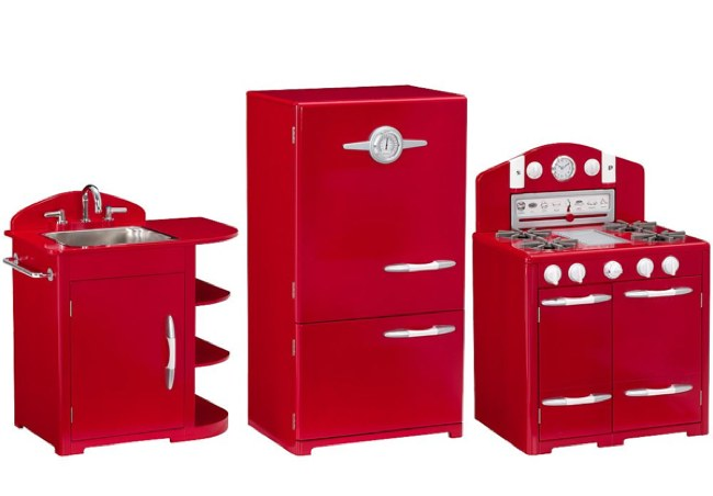 Cocina retro para ninos4 revista muebles mobiliario de for Muebles bonitos sl