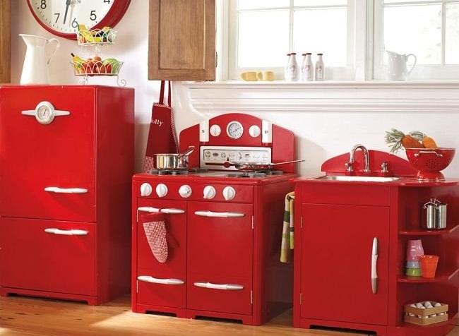 Cocina retro para ni os revista muebles mobiliario de - Cocina ninos ...