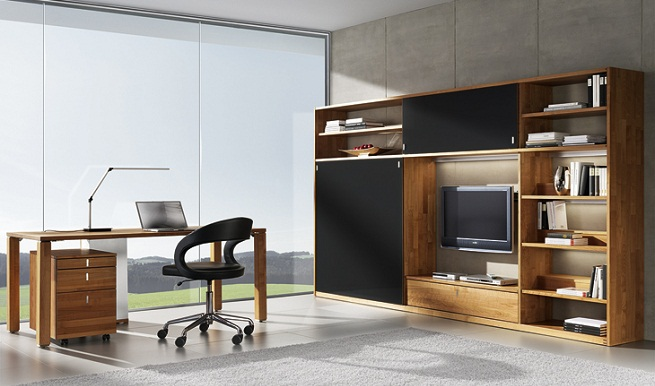 Escritorios de madera para oficina decoracion de cuartos for Escritorios de madera para oficina