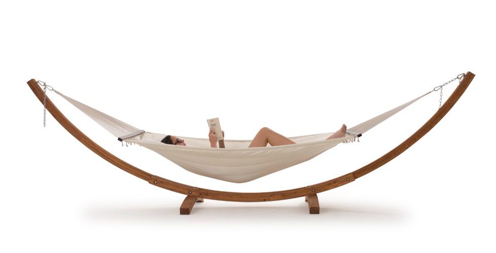 hamacas modernas para la terraza revista muebles