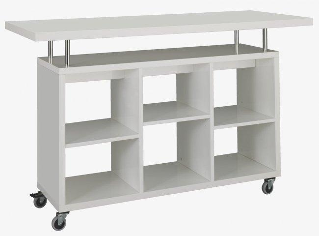 Lily un carrito de cocina m vil revista muebles for Carrito de cocina con ruedas