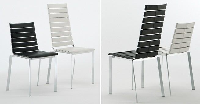 sillas de cuero de dise o revista muebles mobiliario