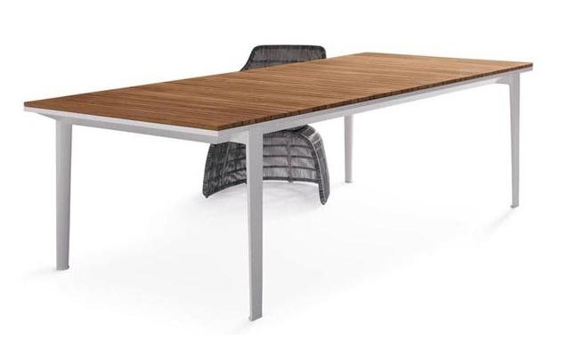 Carpino mesa de dise o por b b italia revista muebles - Mesas redondas de diseno ...