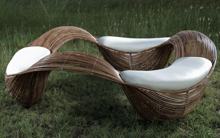 Moderno mobiliario para la terraza revista muebles for Mobiliario de jardin moderno