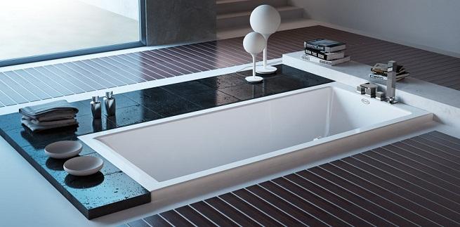 Revista muebles mobiliario de dise o - Vasca da bagno da incasso ...
