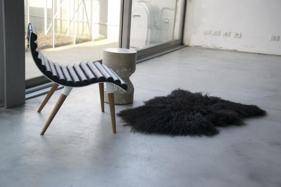 Silla curve por castor design4 revista muebles - Muebles castor ...