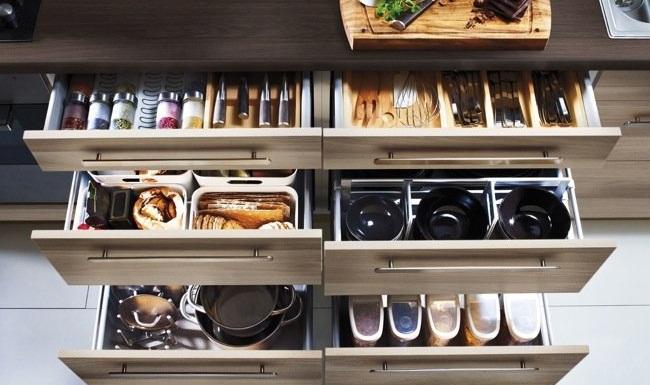 Revista muebles mobiliario de dise o - Accesorios para armarios de cocina ...