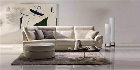Revista muebles mobiliario de dise o for Sofas de cuero natuzzi