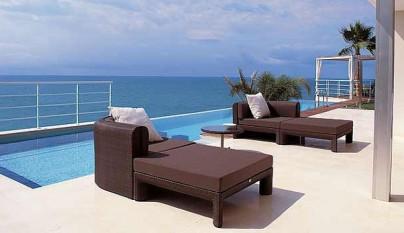 Revista muebles mobiliario de dise o - Tumbonas piscina ...