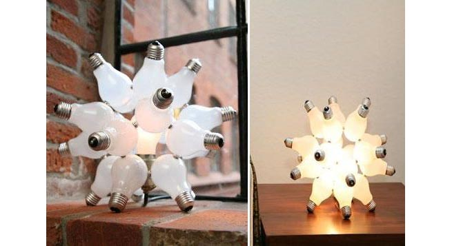 Ideas para l mparas recicladas revista muebles - Ideas para lamparas ...