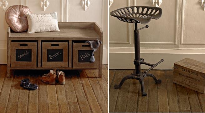 Revista muebles mobiliario de dise o - Mobiliario vintage industrial ...