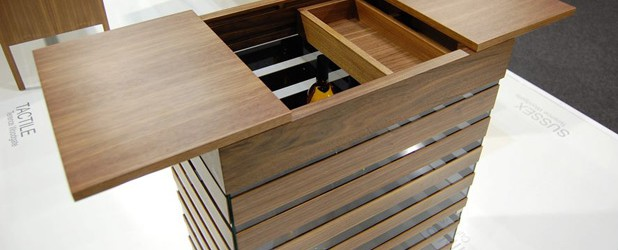 Revista muebles mobiliario de dise o for Mini bar de madera
