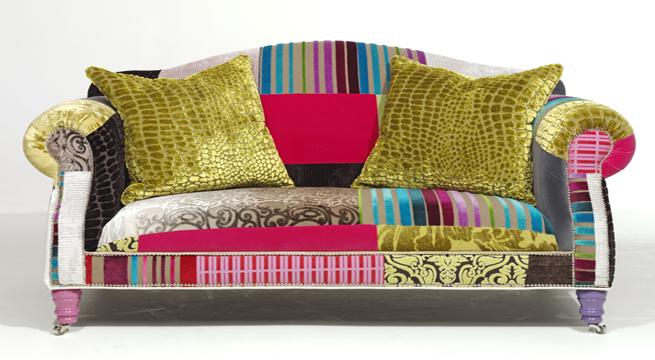 Revista muebles mobiliario de dise o - Telas para fundas de sofa ...