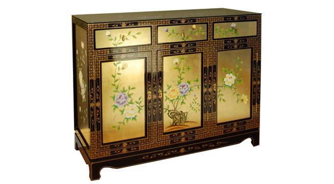 Aparador de estilo oriental revista muebles mobiliario - Muebles de estilo oriental ...