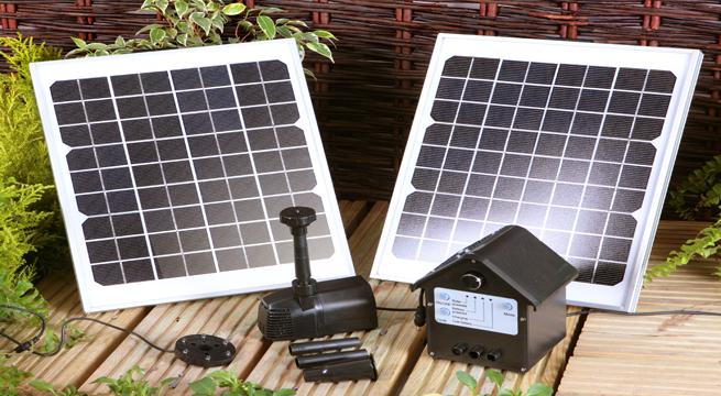 Fuentes solares para el jard n - Antorchas solares para jardin ...