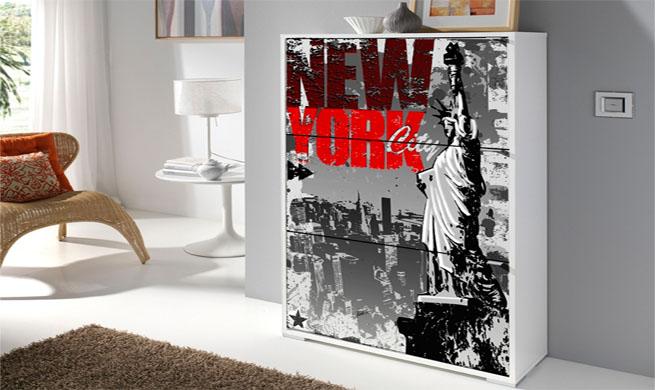 Revista muebles mobiliario de dise o for Zapateros decorativos