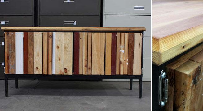Aparadores renovados con madera revista muebles mobiliario de dise o - Aparadores originales ...