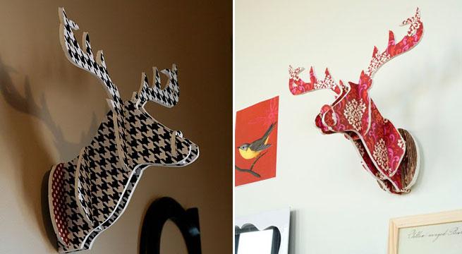 Revista muebles mobiliario de dise o - Cabeza de ciervo decoracion ...