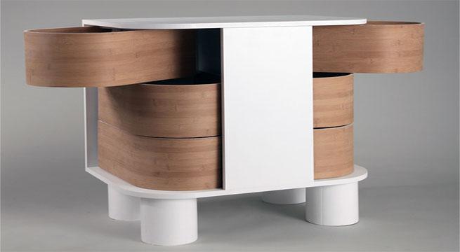 Revista muebles mobiliario de dise o - Muebles comodas y cajoneras ...