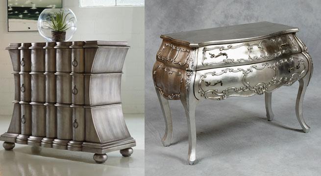 Revista muebles mobiliario de dise o - Muebles pintados en plata ...