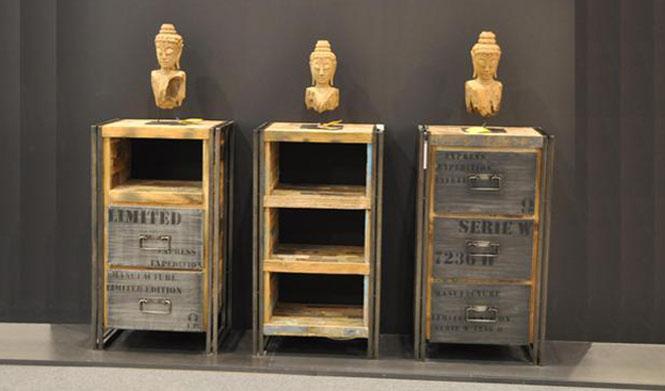 Muebles de madera reciclada revista muebles mobiliario for Muebles con madera reciclada