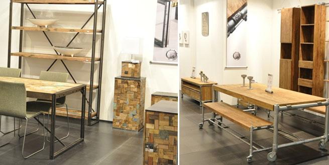 Muebles de madera reciclada revista muebles mobiliario for Diseno de muebles con madera reciclada