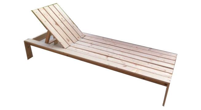 tumbona de madera hazla t mismo - Tumbonas De Madera