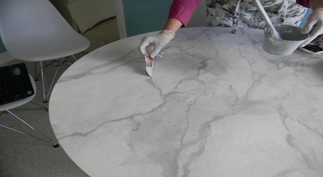 Materiales que simulan ser m rmol en qu se diferencian for Como pintar imitacion piedra
