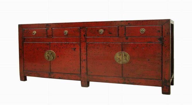 Acabado lacado en rojo oriental – Revista Muebles – Mobiliario de