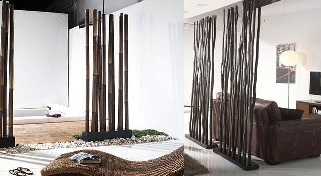 Biombos on pinterest folding screens screens and room dividers - Biombos separadores de espacios ...