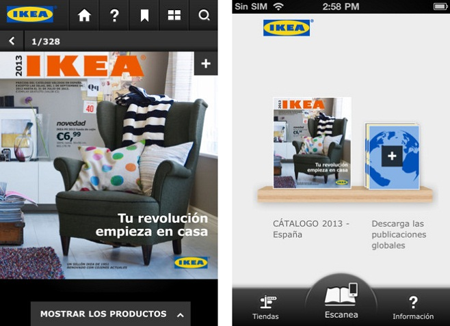 Cat logo ikea 2013 aplicaci n para iphone e ipad - Catalogo ikea 2013 espana ...