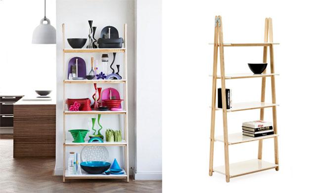 Revista muebles mobiliario de dise o for Estanteria de escalera