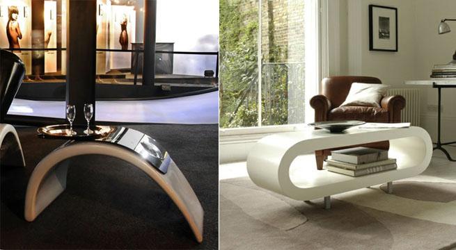 Revista Muebles Mobiliario De Diseno - Mesas-para-salones-pequeos