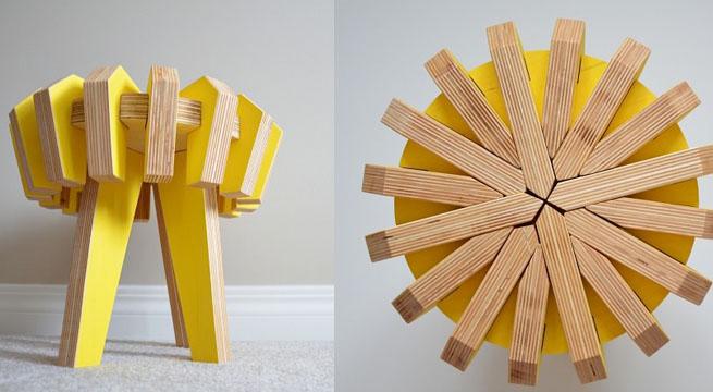 Revista muebles mobiliario de dise o - Taburete ninos ...