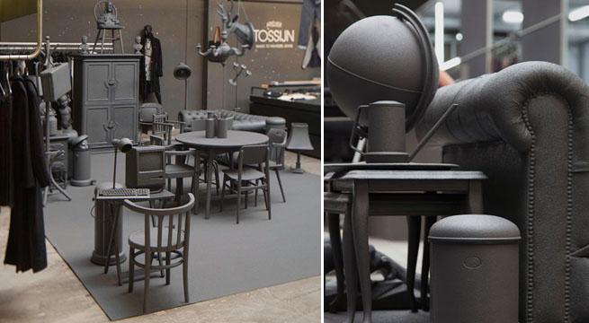 Colección de muebles pintados de gris – Revista Muebles