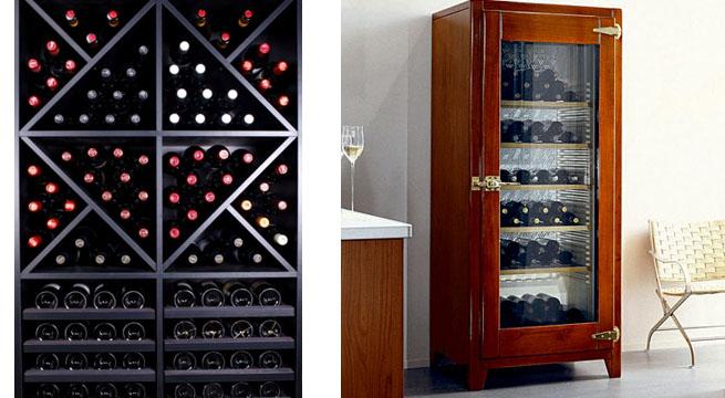 Muebles para conservar el vino revista muebles for Muebles para vinotecas