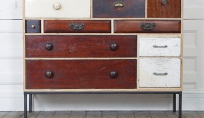 Muebles hechos con cajones reciclados revista muebles for Muebles bonitos sl