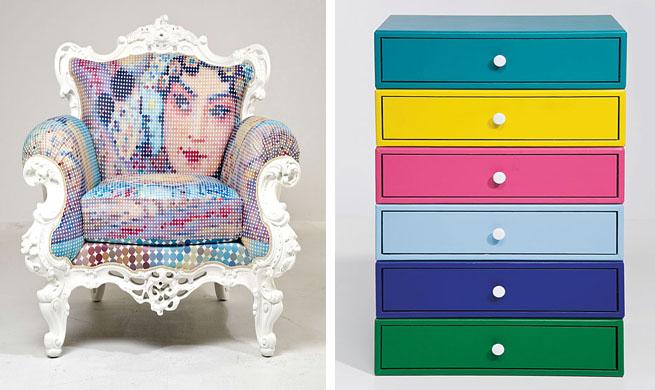 Revista muebles mobiliario de dise o for Muebles pop art