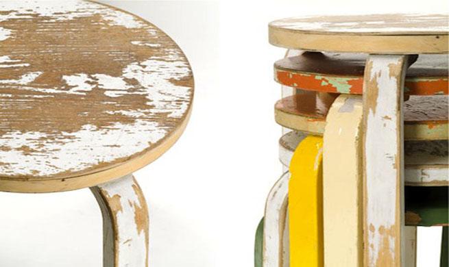 Revista muebles mobiliario de dise o for Diseno de muebles reciclados