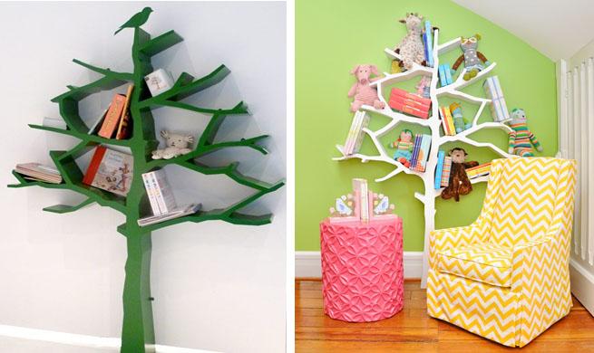 Revista muebles mobiliario de dise o - Estanteria libros infantil ...