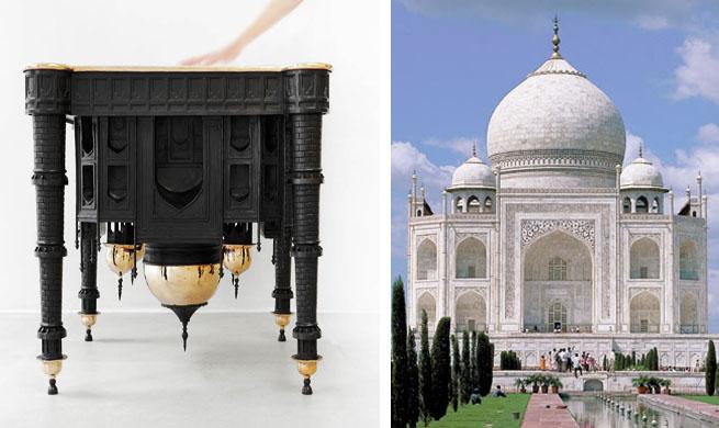 mesa monumento Taj Mahall