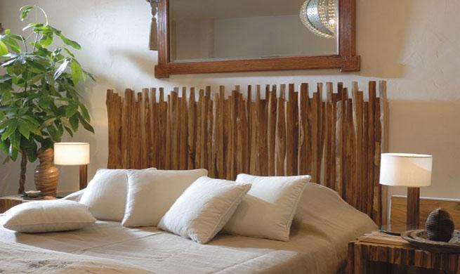 Ideas originales para cabeceros decorativos - Cabeceros baratos y originales ...