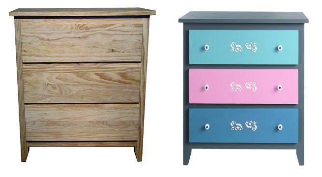 Revista muebles mobiliario de dise o - Pintar muebles de cocina antes y despues ...