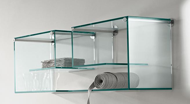 estantes para bao de vidrio estanteras de cristal u revista muebles u mobiliario de diseo estantes para bao de vidrio with muebles de bao de cristal